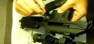Disassemble and reassemble the Kel-Tec PLR-16 pistol