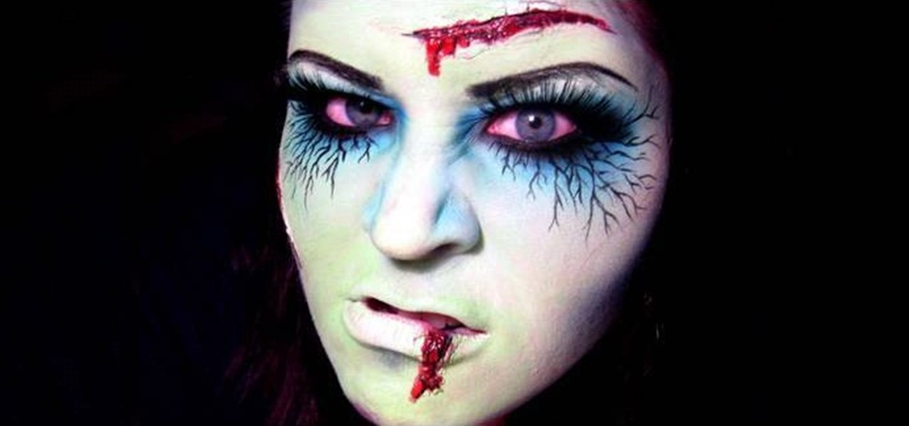 How To Apply Zombie Or U0026quot;dead Girlu0026quot; Makeup For Halloween ...