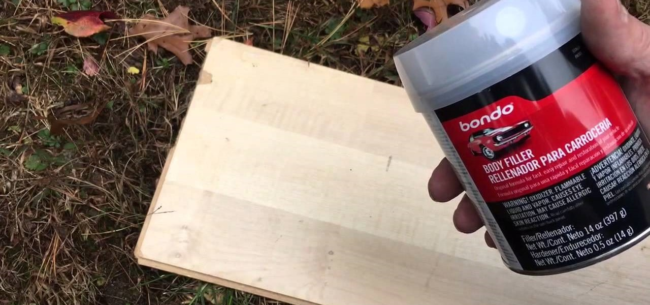 Fix a Wood Pecker Hole in Your House