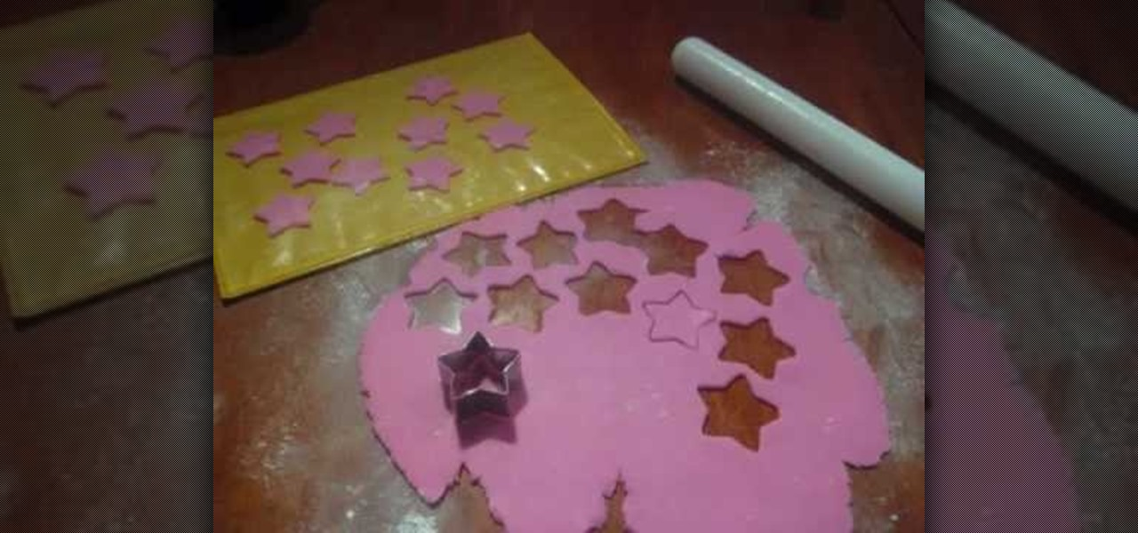 Cake Decorating How To Make Fondant : How to Make fondant icing shooting stars for cake ...