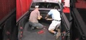 Install a BedRug pickup bedliner