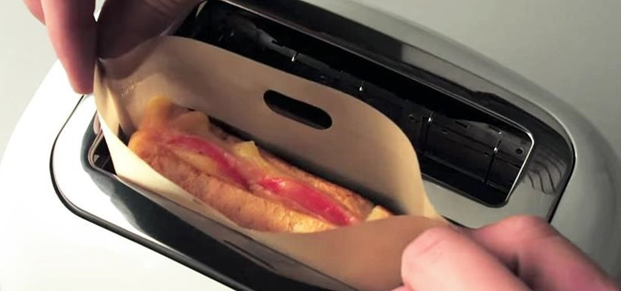 Make Grilled Cheese in Your Toaster with No Mess Food Hacks