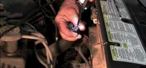 Fix the cooling fan dropping resistor on a '97 Ford Windstar