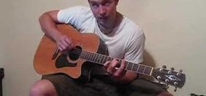 "Play ""Banana Pancakes"" by Jack Johnson on guitar"