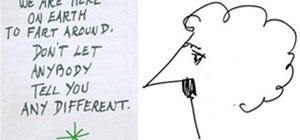 Doodles from famous authors