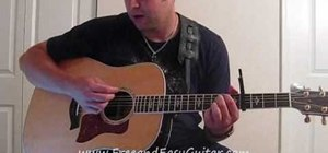 "Play ""You Belong With Me"" by Taylor Swift on guitar"
