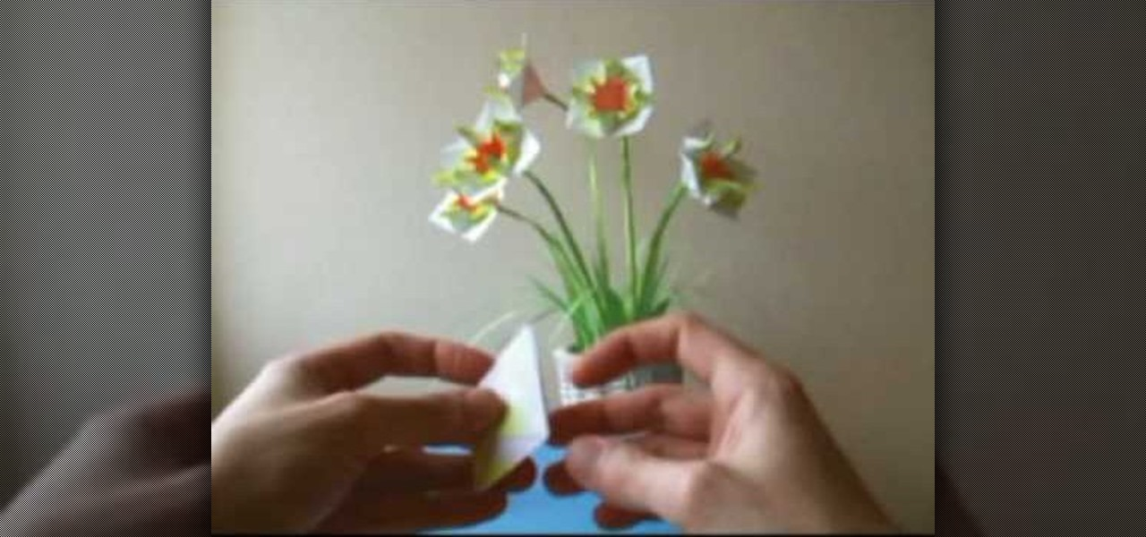 How to origami delicate little flowers origami wonderhowto mightylinksfo