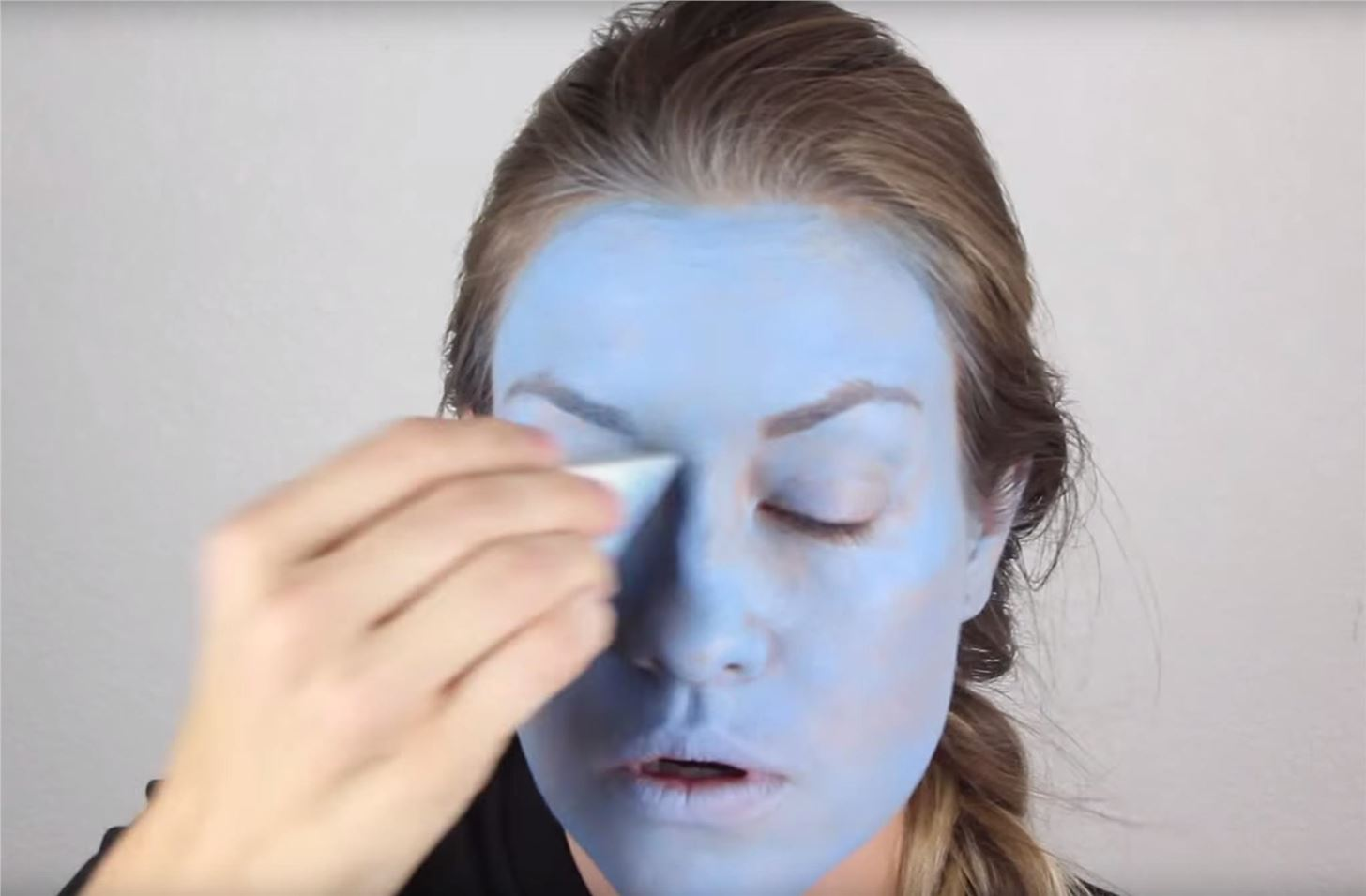 Inside Out: DIY Sadness Costume & Makeup for Halloween