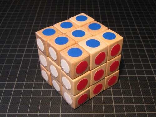 HowTo: DIY Wooden Rubik's Cube