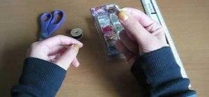 Make a square-patterned bracelet