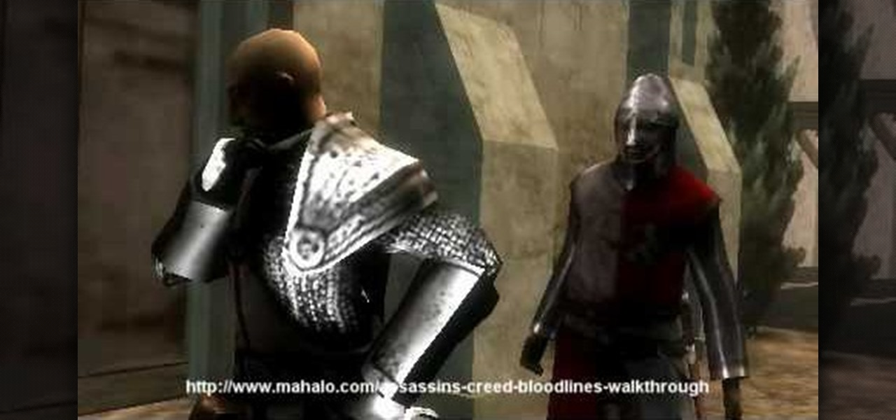 How To Walkthrough Assassin S Creed Bloodlines Mission 8 Psp Wonderhowto