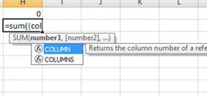 Find the diagonal sum in Excel