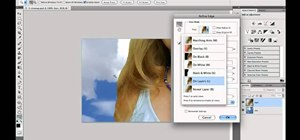 Select hair when working in Adobe Photoshop CS5