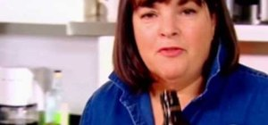 Make chocolate truffles with Ina Garten