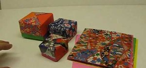 Easily make a paper gift box