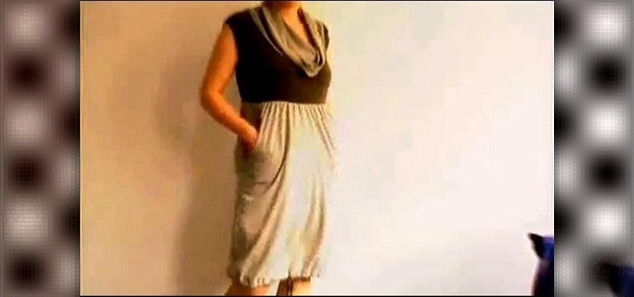 How to make a t shirt dress with threadbanger fashion for Make a dress shirt