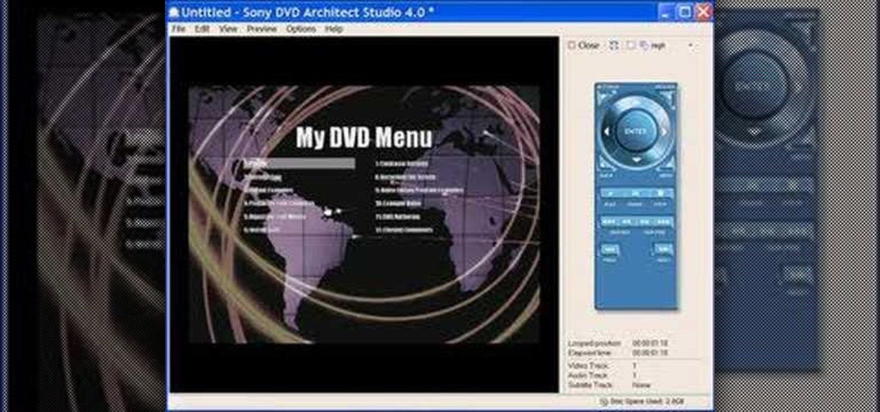 dvd flick menu templates - how to create dvd menus in dvd architect with bill myers