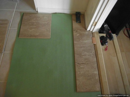 Installing Laminate Tile Over Ceramic Tile Diy Laminate Floors Wonderhowto