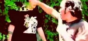 Stunt fight Kung Fu style