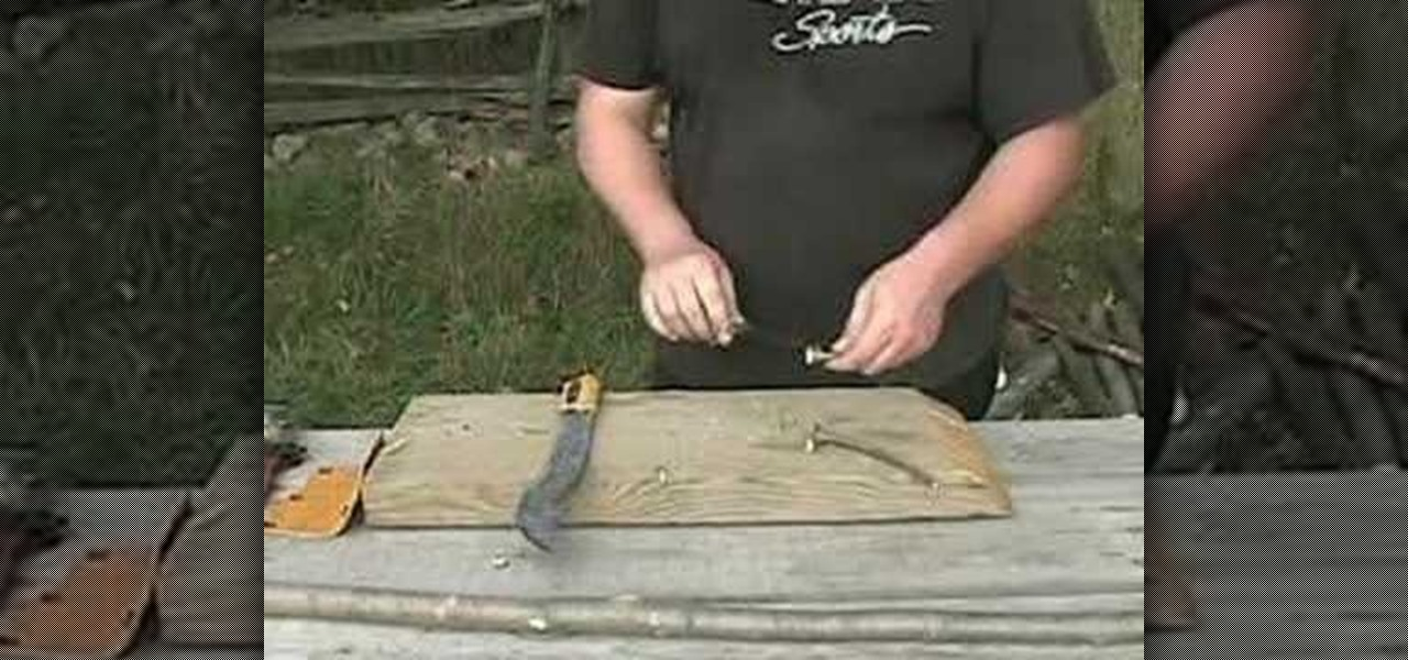 How to make a fishing spear survival weapon survival for How to make a fishing spear