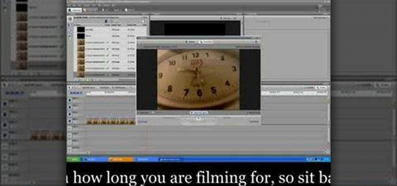 ... to Make a time lapse video using Adobe Premiere Pro « Adobe Premiere
