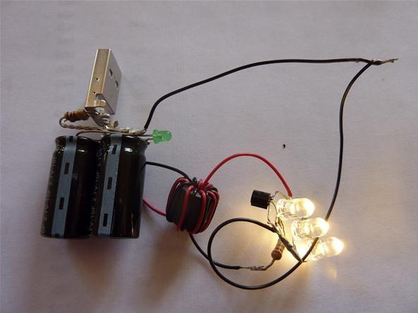 Super Cap USB Flashlight!
