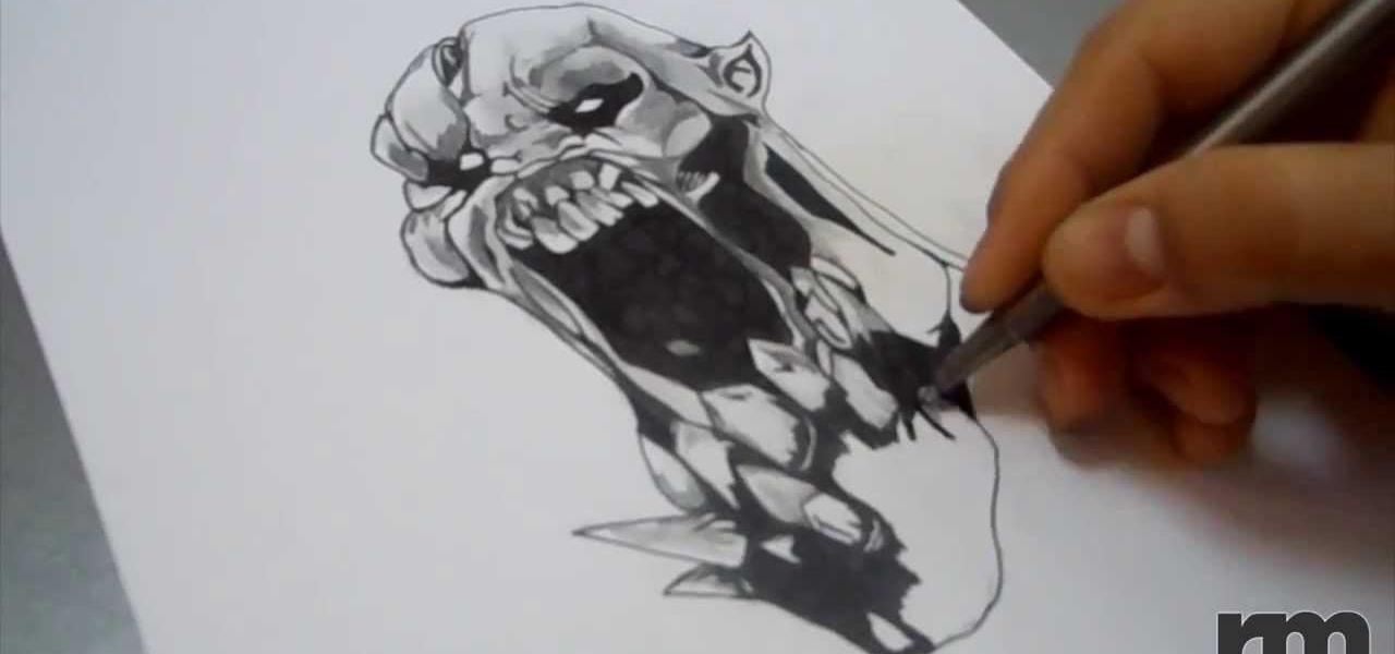 Draw Lifestealer Hero from DOTA 2