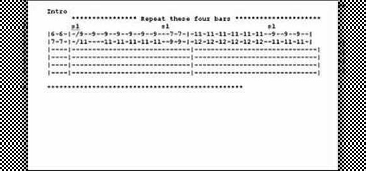 How to Figure out guitar tab u00ab Acoustic Guitar :: WonderHowTo