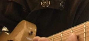 Practice the rolling technique on the guitar