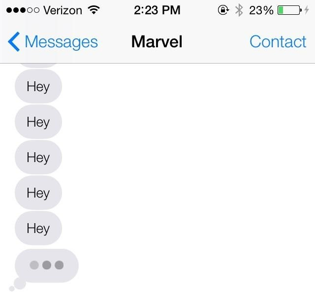 how to know if someone read your text iphone