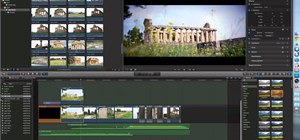 Use the effects and transitions in Final Cut Pro X