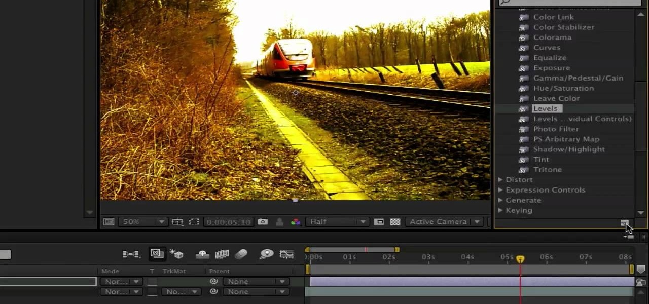 How To Create Your Own Presets In Adobe After Effects WonderHowTo