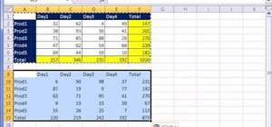 Use the copy & paste tools in Microsoft Excel 2010