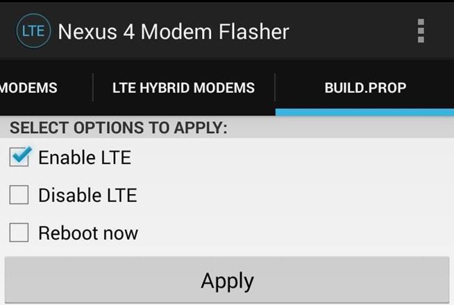 Prop Build To Enable Lte Nexus