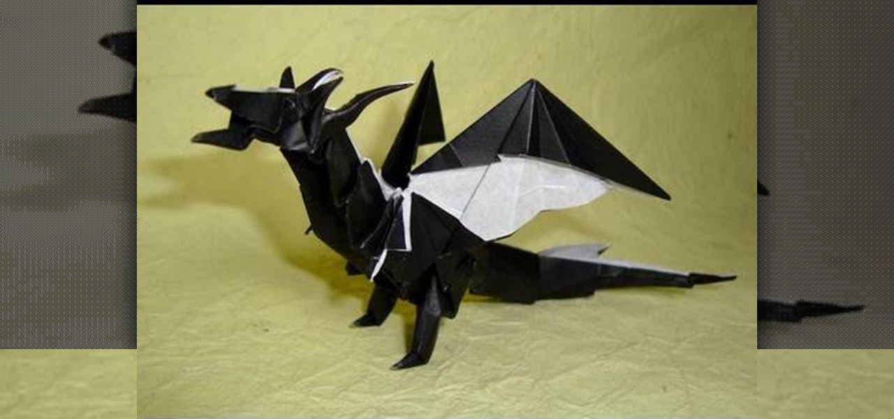 Origami dragon tutorial step by step | How to make a paper dragon ... | 600x1280