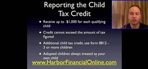 Fill out the child tax credit worksheet