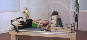 Do advanced side-lying leg work on a Pilates Reformer