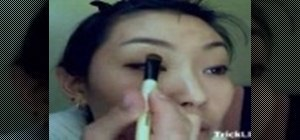Apply makeup for Asian eyes