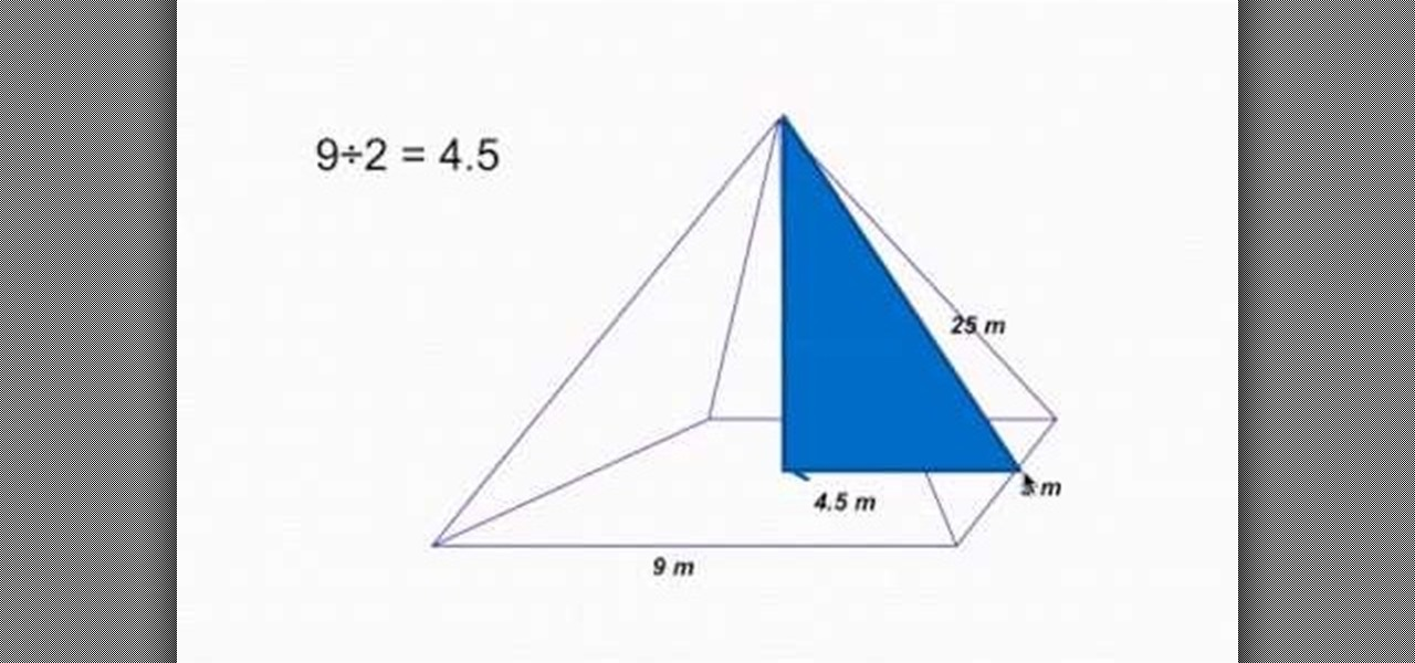 Equation For Volume Of Pyramid Jennarocca