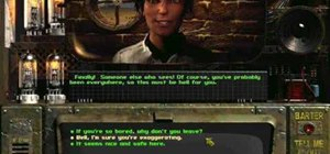 Walkthrough Fallout 1 with a great custom character