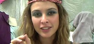 Create a bohemian Avatar inspired makeup look with Josie Maran