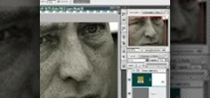 Create a metallic black & white portrait in Photoshop