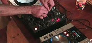 Use different effects on a DJ mixer