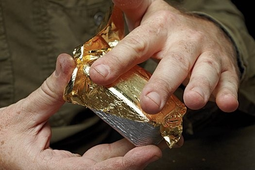 How To Make A Fake Pirate Worthy Gold Bar On The Cheap