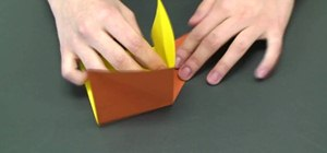 Fold a cool origami dog box
