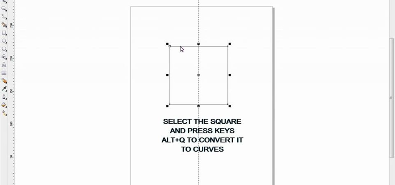 How to Draw a prefect triangle in CorelDRAW X4 « Software