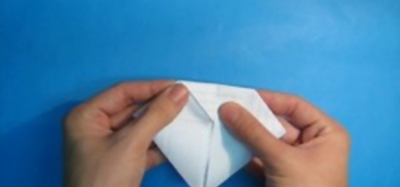 How To Fold The Origami Diamond Note Papercraft WonderHowTo