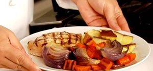 Make a delicious roasted vegetable dish