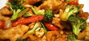 Make Filipino-style cashewed chicken