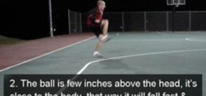 Do a Behind The Back Leg Catch freestyle soccer move